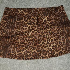 Bcbg Maxazria leapord shorts size 6